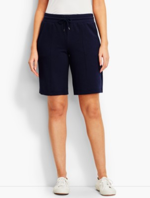 Talbots Women's Mid Length Essential Terry Short prdi42386