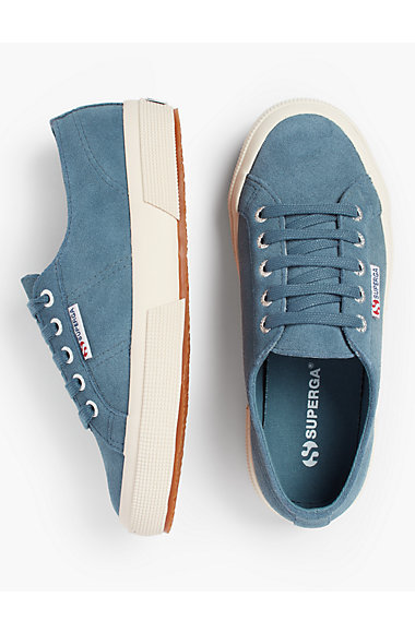 Superga® Sneakers   Suede by Talbots