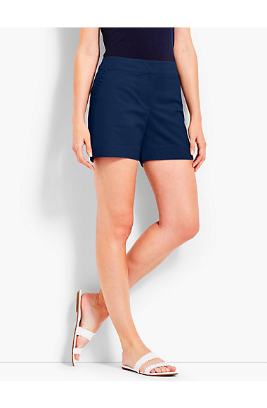 Ruffle Pocket Short by Talbots