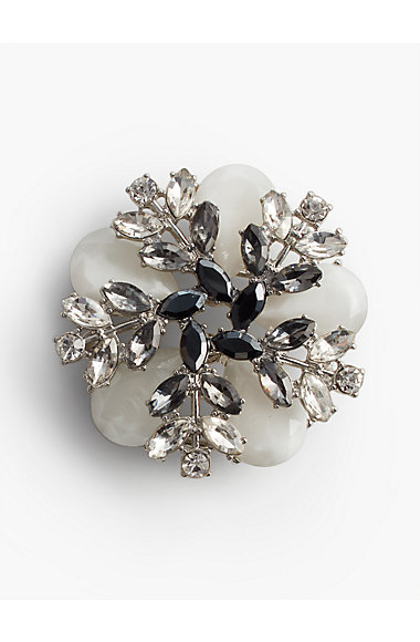 Sprig Cluster Brooch by Talbots