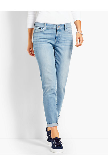Girlfriend Jean   Light Cool Vista by Talbots
