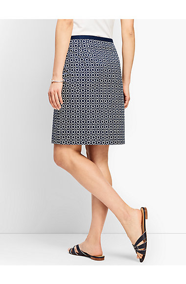 Batik Diamond A Line Skirt by Talbots