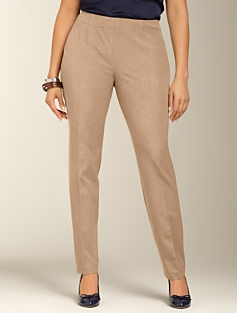 Heritage Fit Bi-Stretch Slim-Leg Side Zip Pants
