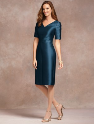 What to wear mother of the bride or groom tina adams for Talbots dresses for weddings
