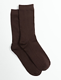 Microfiber Flat Knit Trouser Socks
