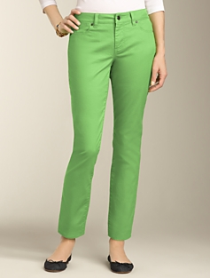 Signature Fit Colored  Ankle Jeans