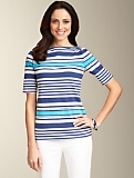 Striped Elbow Tee