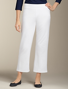 French Terry Cropped Pants