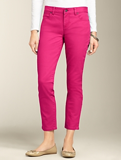 Signature Fit Colored Crop Jeans