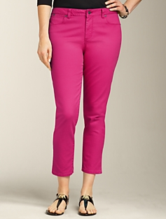 Heritage Fit Colored Crop Jeans