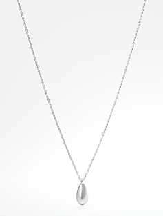 Sterling Silver Teardrop Necklace