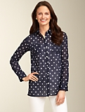 Cotton Summer Dot Shirt