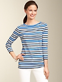 Striped Bateau Sweater