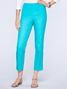 Heritage Fit Pique Crop Pants