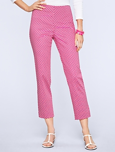 Heritage Fit Scalloped Crop Pants