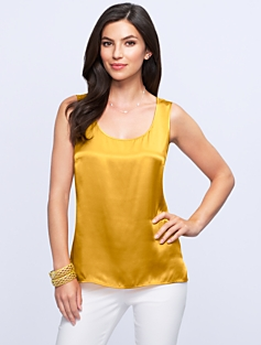 Silk Charmeuse Top