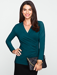 Refined Wrap Top