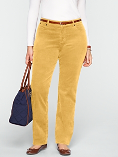 Heritage Slimming Straight-Leg Cords