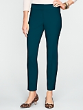 Signature Double-Weave Ankle Pants