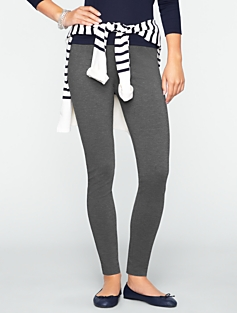 Seamless Ponte Ankle Leggings