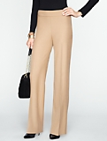 Heritage Refined Bi-Stretch Wide-Leg Pants