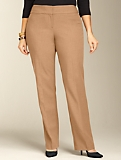 Signature Double Weave Straight-Leg Pants