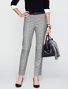Signature Glen Plaid Ankle Pants