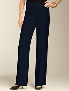 Heritage Satin-Back Crepe Pants