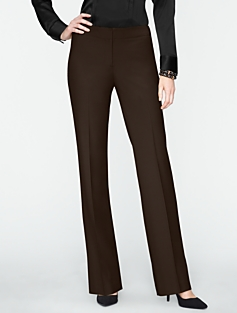 Signature Refined Bi-Stretch Bootcut Pants