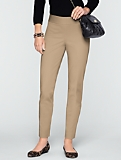 Signature Slimming Side Zip Cotton Bi-Stretch Pants