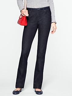 Heritage Straight-Leg Dark Atlantic Rinse Jeans