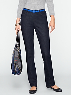 Signature Dark Atlantic Straight-Leg Jeans