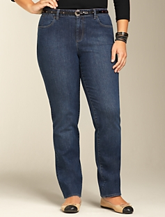 Signature Medium Atlantic Straight-Leg Jeans