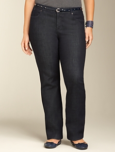 Signature Dark Atlantic Rinse Bootcut Jeans