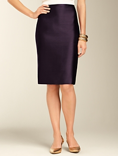 Doupioni Pencil Skirt