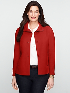 Double-Faced Wool Jacket