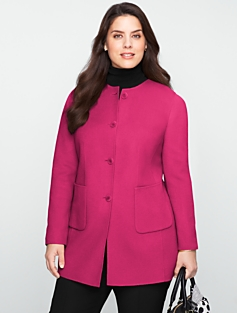 Long Double-Faced Wool Jacket
