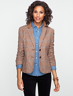 Houndstooth Riding Blazer