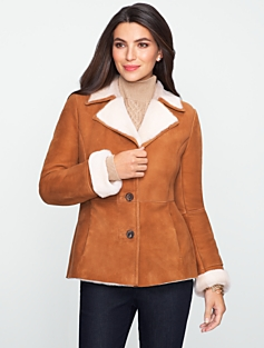 Shearling Car Coat