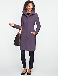 Plush Twill Walking Coat With Thinsulate (TM) Lining