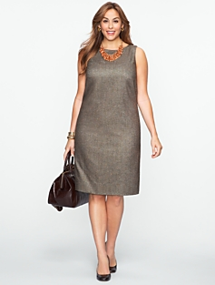 Donegal Tweed Dress