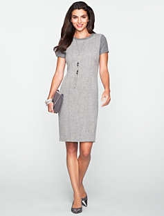 Tweed & Flannel Dress