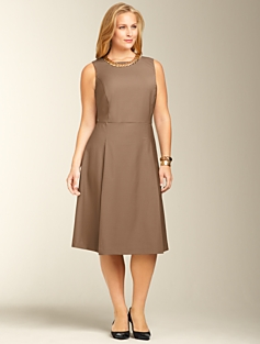 Seasonless Wool A-line Dress