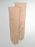 Leather Three-Quarter Length Gloves