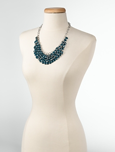 Paillette Bib Necklace