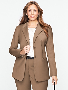 Seasonless Wool Long Jacket