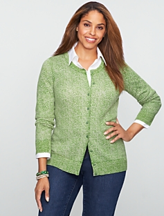 Herringbone Charming Cardigan