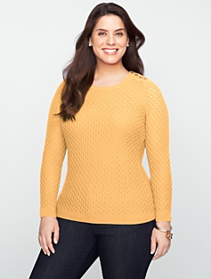 Lacy-Cable Sweater