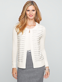 Cozy Beaded Cardigan