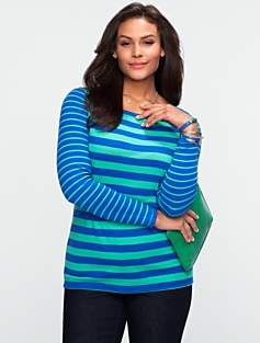 Joy Striped Tee